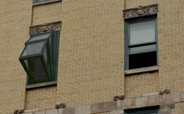 Окно-трансформер, если нет балкона, а очень хочется