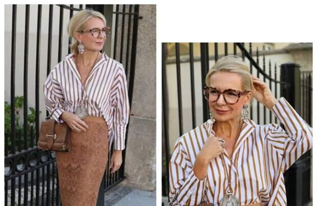 Как научиться гармонично одеваться, чтобы всё в образе сочеталось: Ответ здесь — 15 наглядных примеров для дам 50+