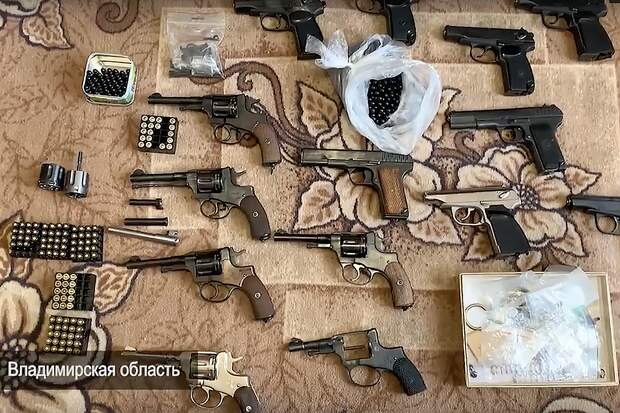 ФСБ накрыла масштабную сеть подпольных оружейников