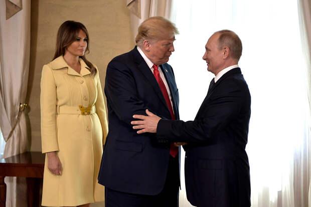 Путин пожелал Трампу скорейшего выздоровления от COVID-19