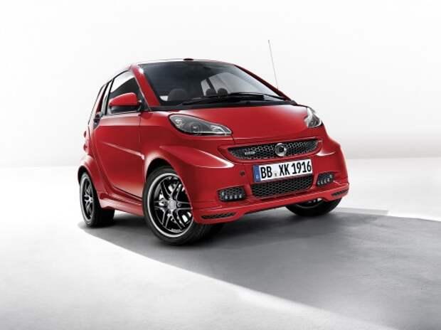Изменились цены на автомобили smart в России