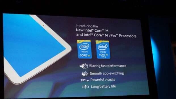 Computex 2014: дебют процессоров Intel Core M поколения Broadwell