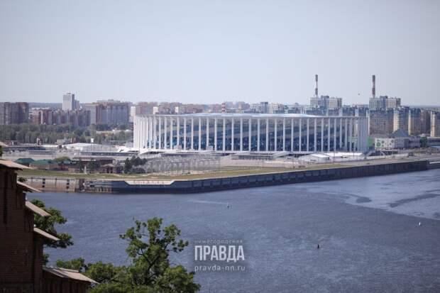 Улицы около стадиона «Нижний Новгород» временно перекроют