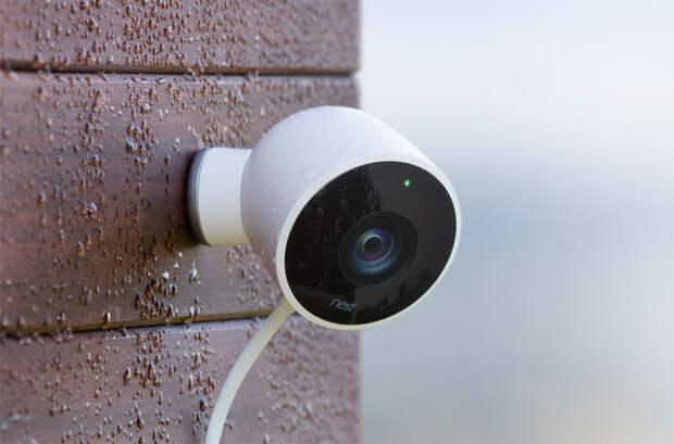 Nest Cam Outdoor - полная гарантия безопасности.