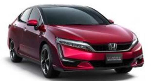 Honda Clarity Fuel Cell на водородных топливных элементах