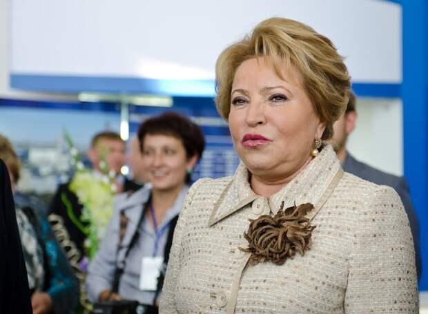 Матвиенко рассказала о намерениях по ограничениям в интернете