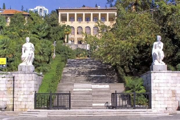 Город Сочи, санаторий им. С. Орджоникидзе