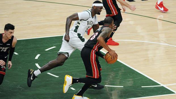 «Милуоки» победил «Майами» в матче НБА