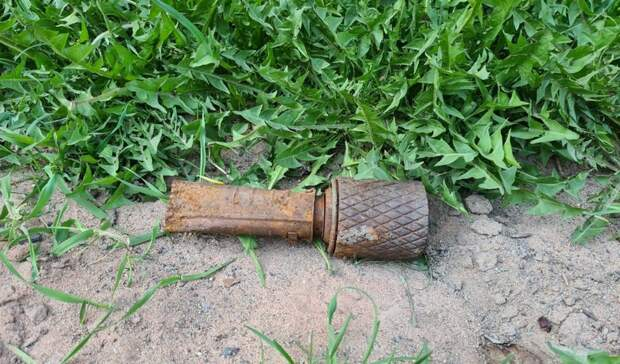 Гранату времен ВОВ нашли на улице в Петрозаводске