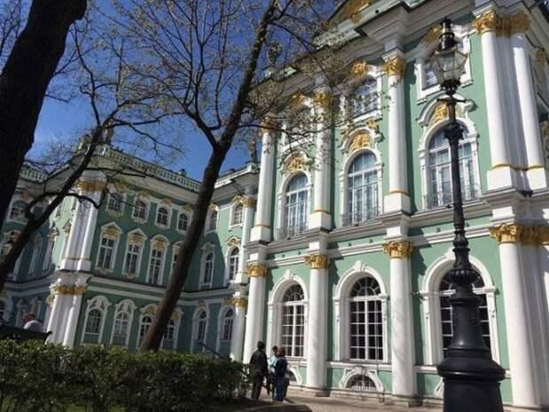 Петербуржец повесил в Эрмитаже свой портрет