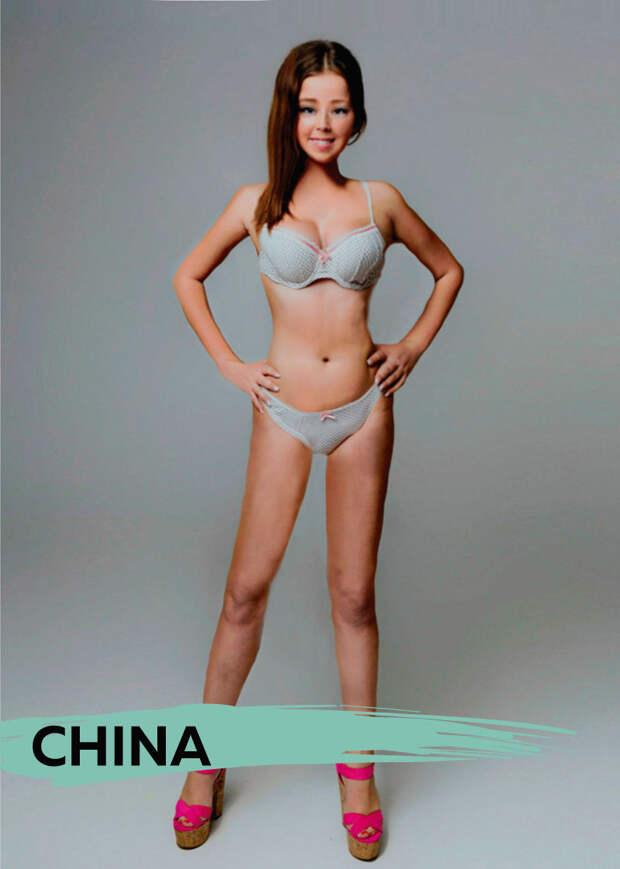 Как выглядит красивая женщина в разных странах мира?