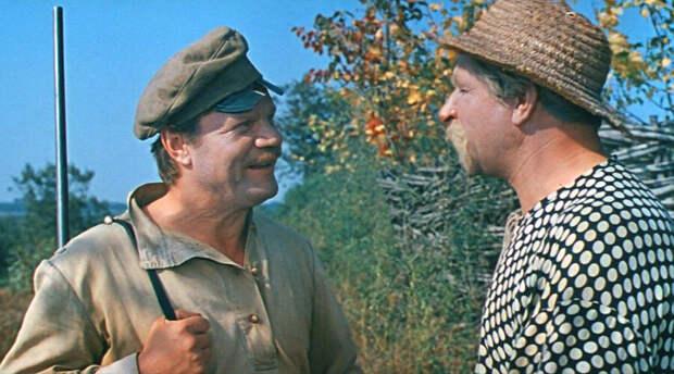 Кадр из фильма «Свадьба в Малиновке», режиссёр Андрей Тутышкин, 1967 год