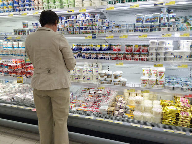 В России стартовал эксперимент по маркировке молочной продукции