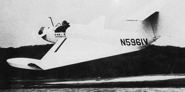 Первый экраноплан Александр Липпиша — Collins Х-112, построенный им ещё вСША