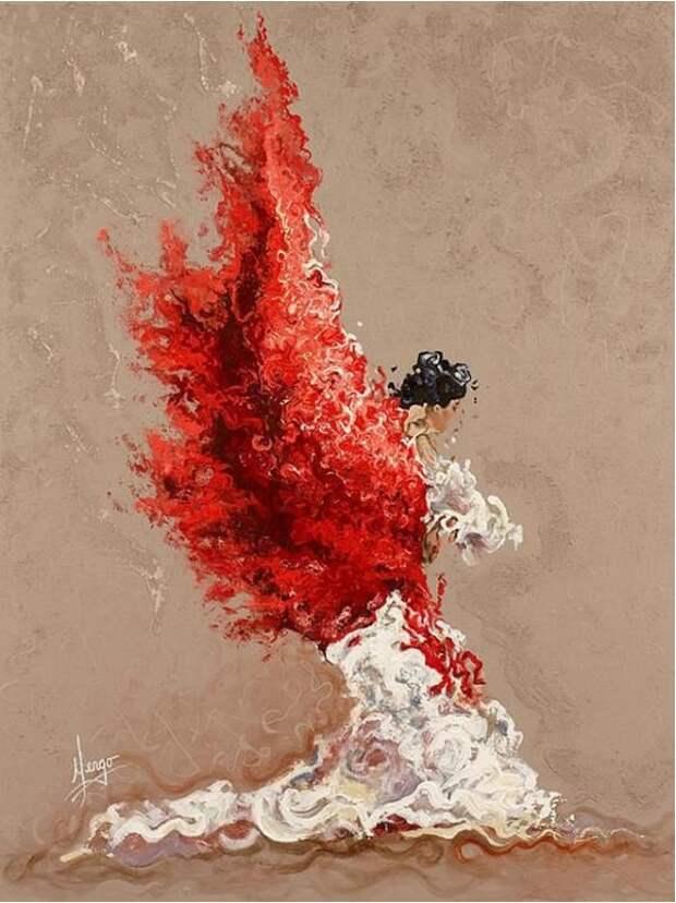 Karina-Llergo-Salto и её картины