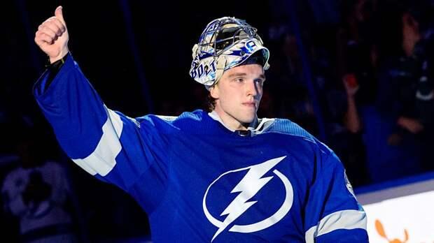 Василевский вышел на второе место по количеству побед в сезоне НХЛ