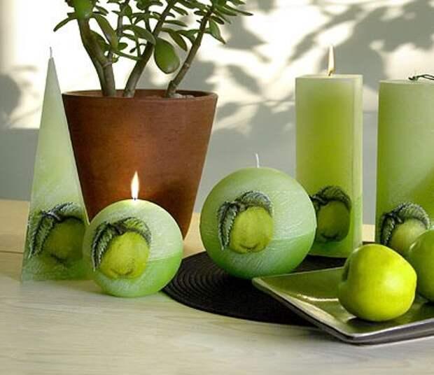 Такими могут быть самодельные свечи