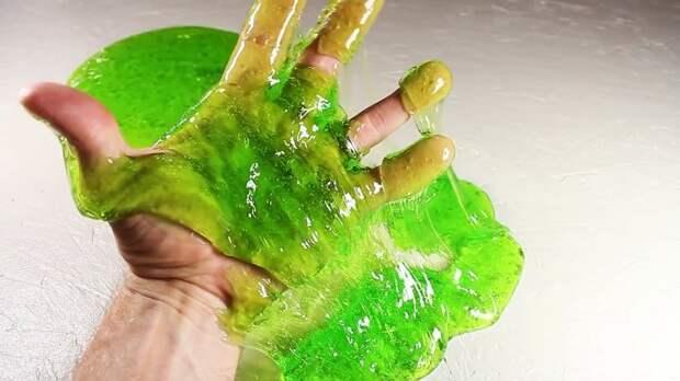 Как сделать лизуна или Слайм своими руками