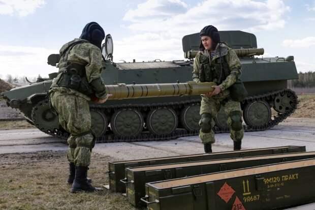Россия поставила Беларуси ракеты нового типа