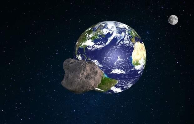 К Земле приближается огромный астероид