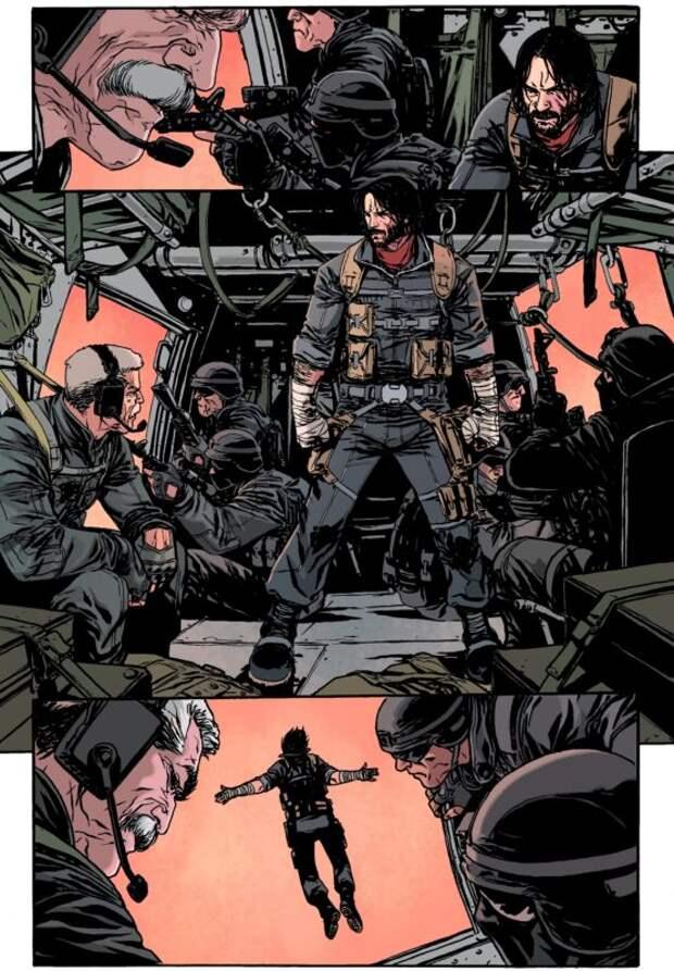 Еще один талант раскрыт: Киану Ривз участвует всоздании комиксов