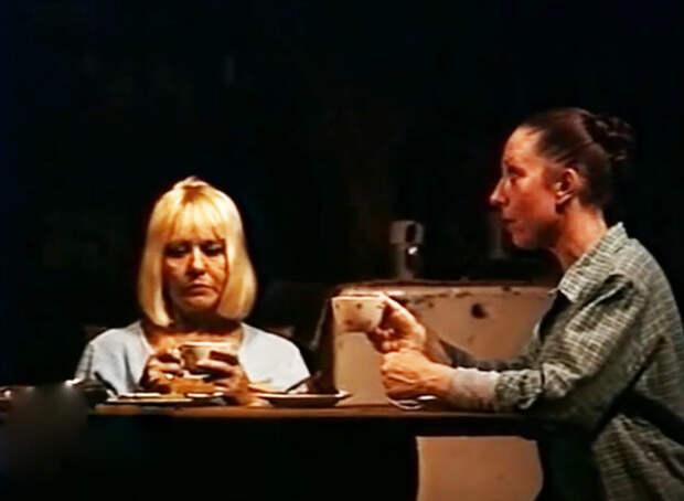 """спектакль """"Три девушки в голубом"""", 1988 г."""