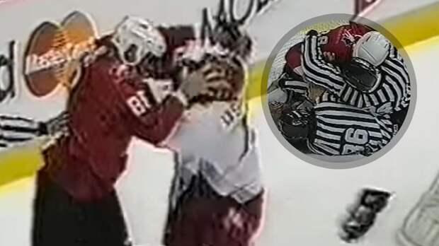 Уложил троих с трех ударов. Легендарная драка российского хоккеиста Каспарайтиса с канадцем Линдросом: видео