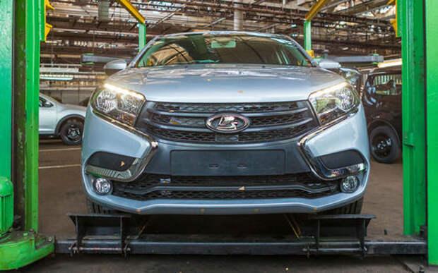 Lada Vesta с вариатором получит новый мотор