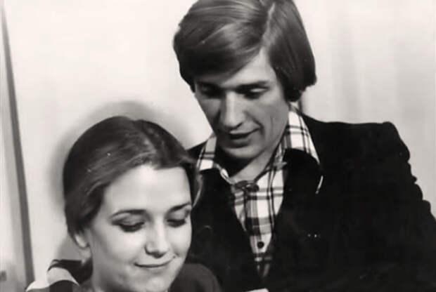 Александр Абдулов и Ирина Алфёрова. 1976 год