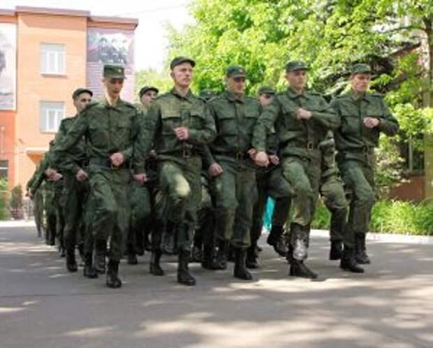 Многие призывники СВАО отправляются служить в элитные войска
