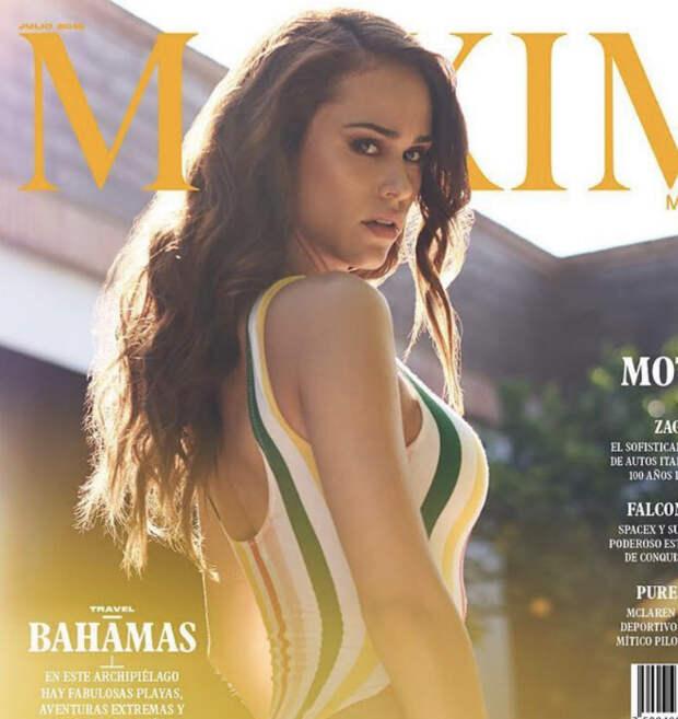 Самая желанная ведущая мира надела бикини и появилась на обложке журнала