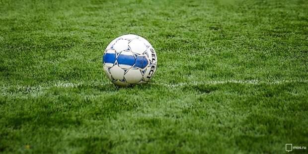 Футболисты из района Аэропорт заняли первое место на окружных соревнованиях