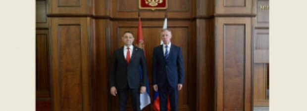 Александр Горовой и Александр Вулин обсудили актуальные вопросы российско-сербского сотрудничества в правоохранительной сфере