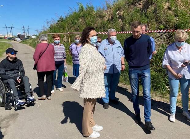 Татьяна Буцкая настаивает на ликвидации мусорных куч в Некрасовке