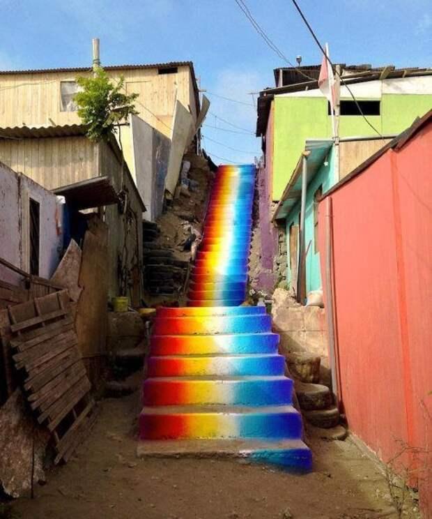 Невероятные лестничные пролёты со всего мира