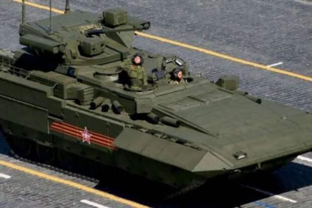 Т-15 Барбарис: БМП, которую американцы назвали лучшей в мире (2 фото + 1 видео)