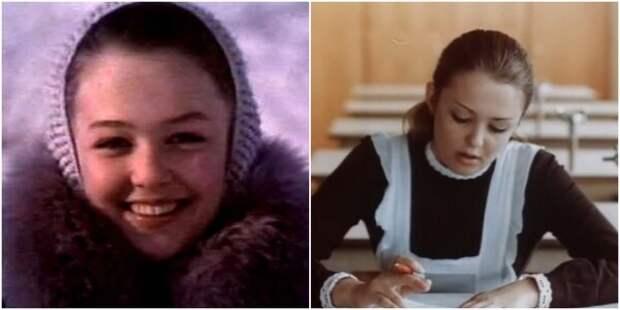 """Вероника Изотова в фильмах """"Потрясающий Берендеев"""" (1975) и """"Смятение чувств"""" (1977)"""
