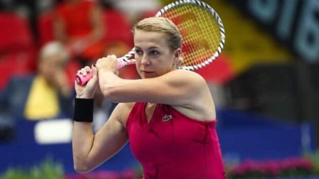 Павлюченкова обыграла Зиданшек и вышла в финал Открытого чемпионата Франции