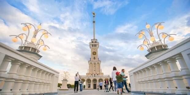 В парке Северного речного вокзала завершено обустройство зоны отдыха. Фото: Е. Самарин mos.ru