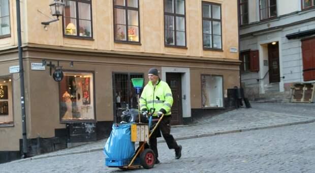 В Германии люди с российскими «вышками» мусор убирают, таксуют, косят газоны и сидят на кассах в магазинах