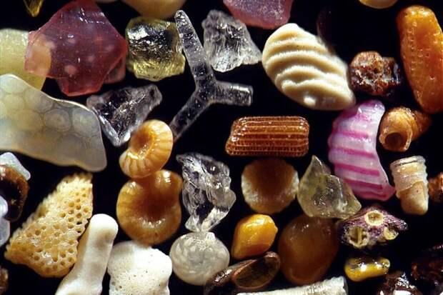 Песчинки, собранные на пляжах Мауи