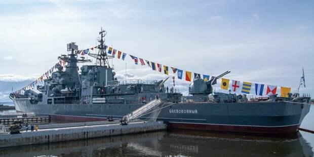 """СКР: с эсминца """"Беспокойный"""" похитили бронзовые гребные винты весом 26 тонн"""