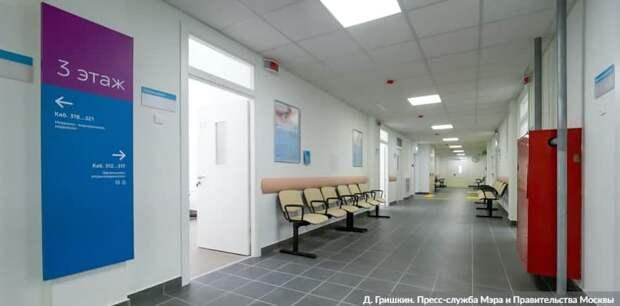 Собянин рассказал о программе реконструкции московских поликлиник. Фото: Д. Гришкин mos.ru