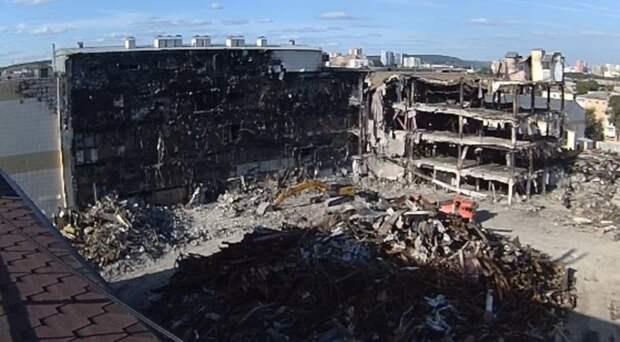 Руководство кемеровской «Зимней вишни» частично признало вину в пожаре 2018 года