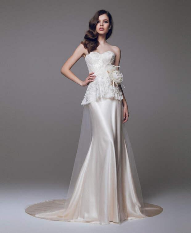 Обзор модных свадебных платьев