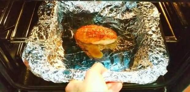 Попробовала в гостях «отменное» филе, и сделала дома сразу килограмм. Муж сказал, что вкуснее филе не ел