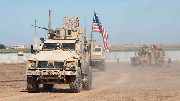 Российские военные обеспокоены перемещением техники США в Сирии