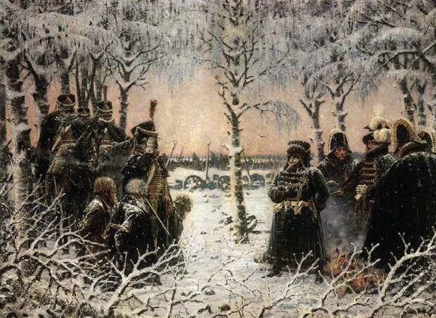 «Наполеон I в России», «1812 год» - серия картин Василия Верещагина
