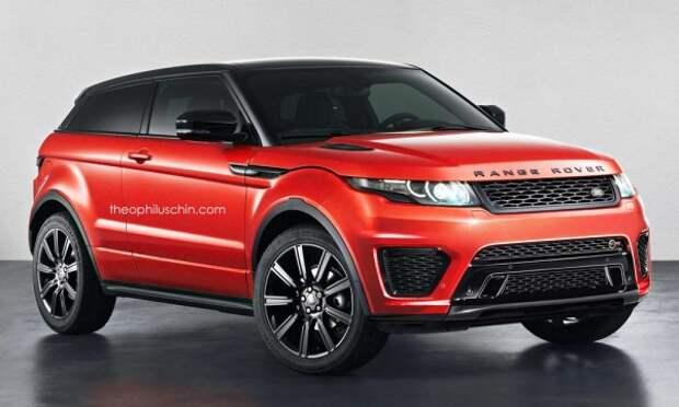 Агрессивный Range Rover Evoque, вдохновленный SVR