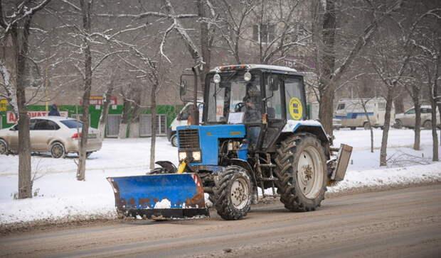 Оренбург вошел в пятерку городов России по качеству уборки снега